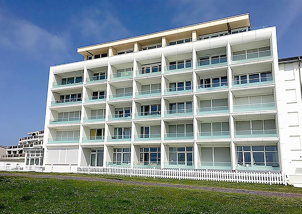 Norderney, energetische Sanierung, Alucobond-Fassade, MACON BAU GmbH Magdebur